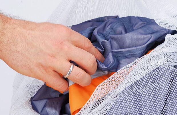 Ausrüstungspflege Wäschesack