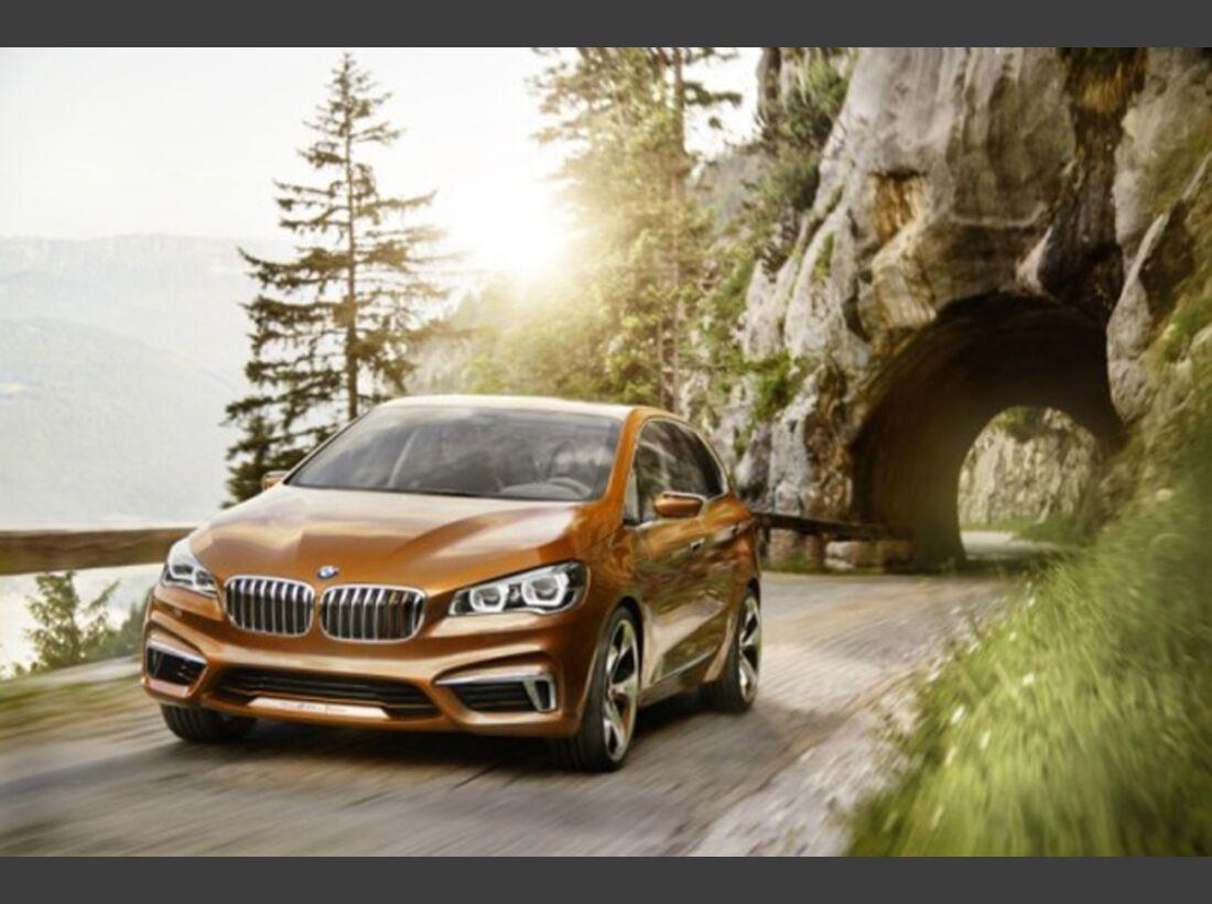 BMW Concept Active Tourer Outdoor - Bilder 3