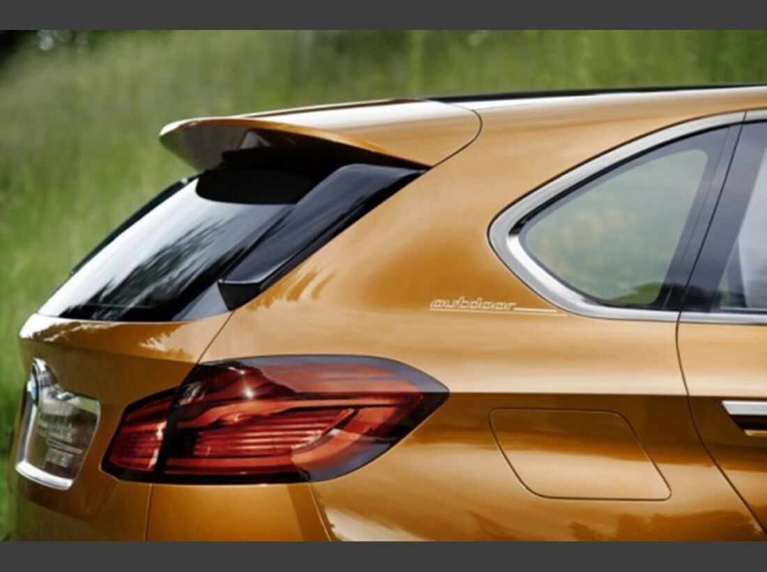 BMW Concept Active Tourer Outdoor - Bilder 9