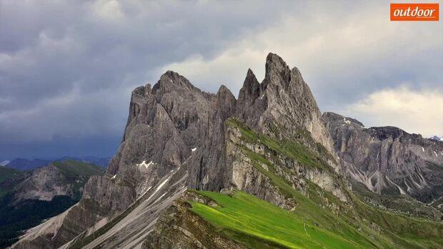 Die schönsten Dolomitengipfel