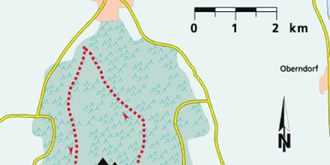 Friesland Tour 1 Karte