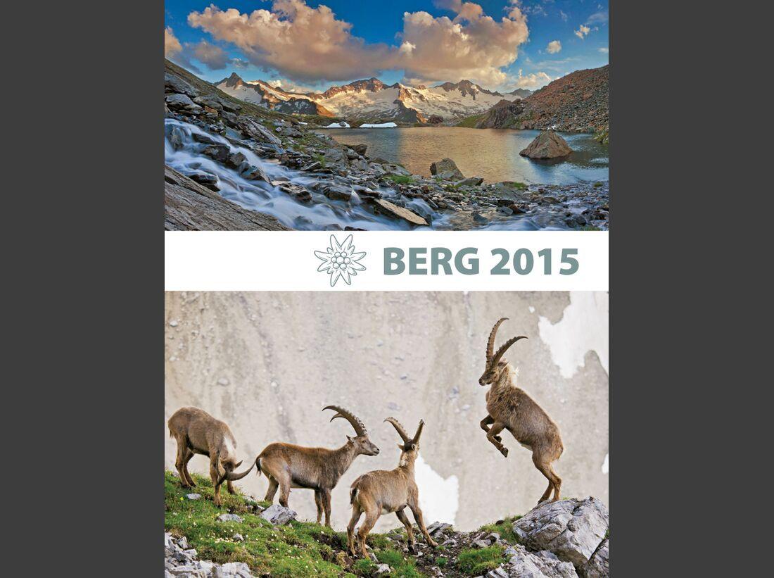 KL Titel Cover ALpenvereinsjahrbuch Berg 2015