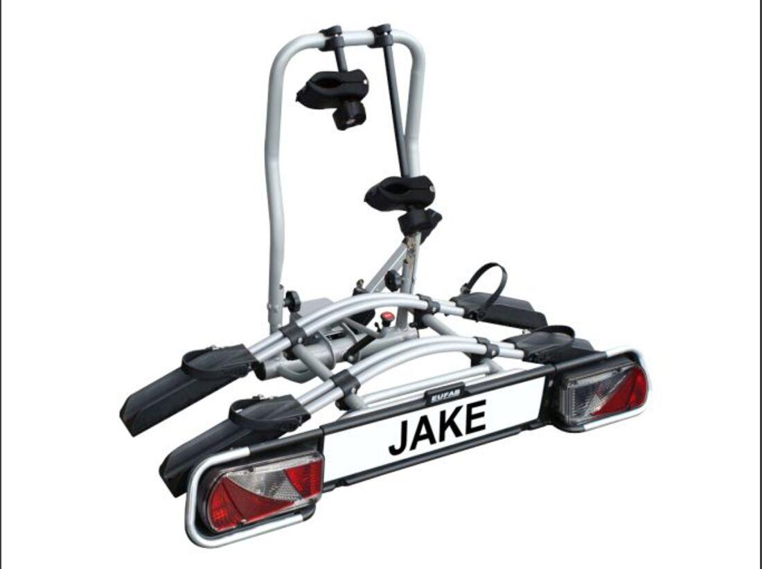 MB Fahrradträger Marktübersicht Anhängerkupplungsträger 2016 Eufab Jake
