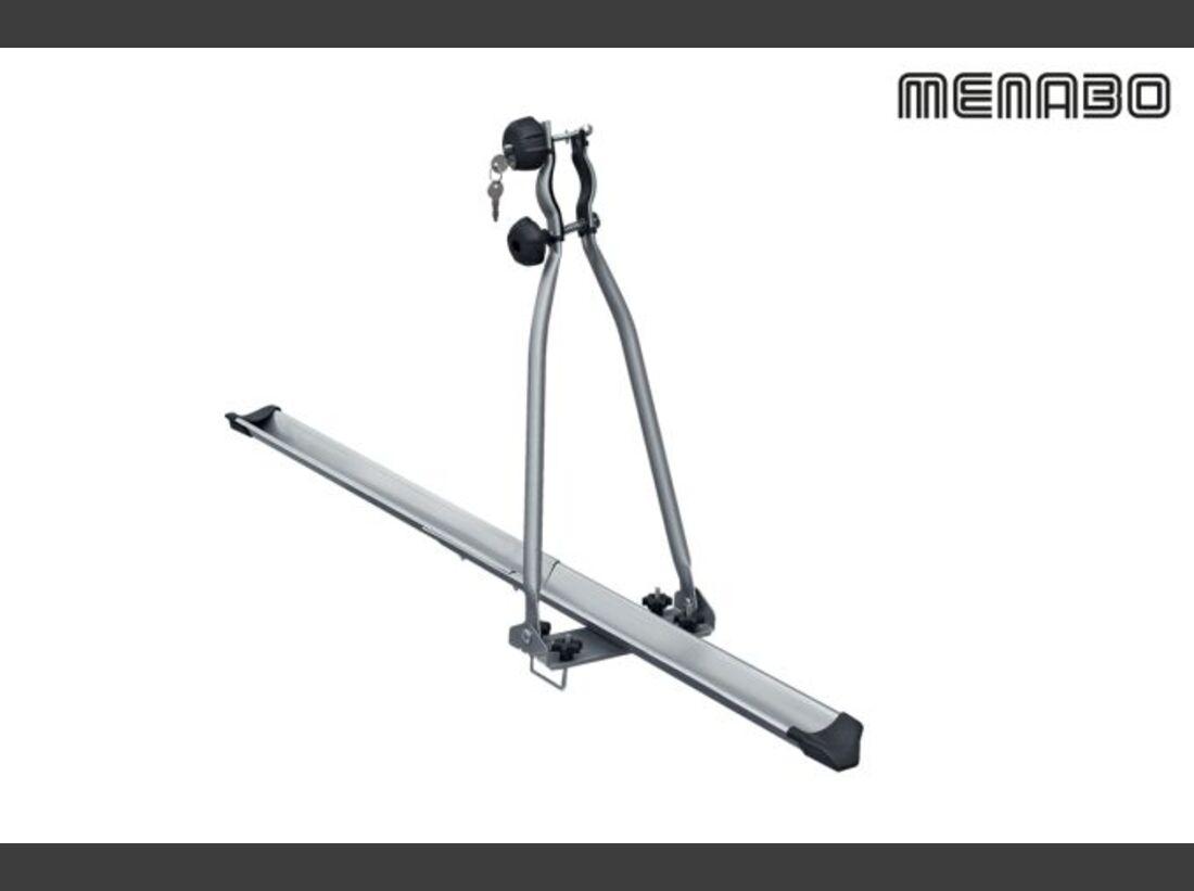 MB Fahrradträger Marktübersicht Dachträger 2016 Menabo Huggy Lock