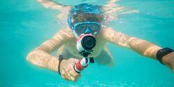 OD 0516 TomTom Actionkamera unter Wasser