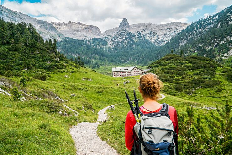 OD_0619_Wanderung_Berchtesgaden Bergtour Steinernes Meer Kärlingerhaus Viehkogel