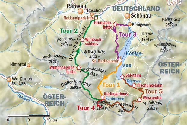 OD_0619-Wanderung-Berchtesgaden-Wandertouren Karte