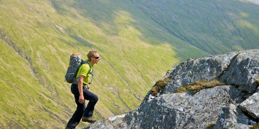 OD 1009 Tested on Tour Wanerrucksack Boris Praxistest Wandern Bergwandern