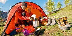 OD 1212 Tested on tour Trekking Zelt Zelten Camping