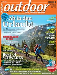 OD 2014 05/14 Heft-Cover Outdoor Titelbild