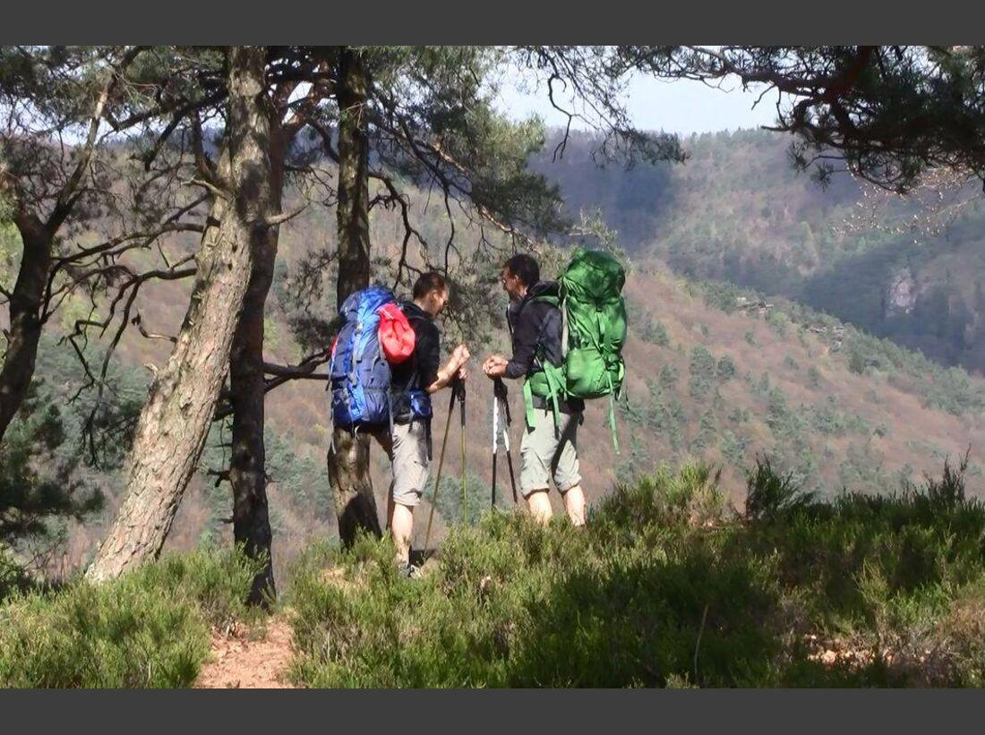 OD-2014-Trekkingrucksack Test Pfalz Pfälzer Wald