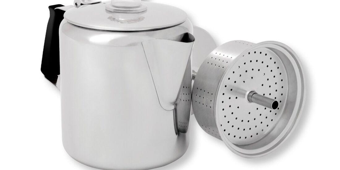 OD 2015 Gsi Stainless Perculator Kaffeekanne Camping Zubehör Ausrüstung