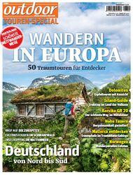 OD 2015 Sonderheft Europa Wandern SH 0215 Tourenspecial