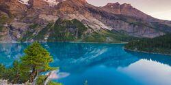OD 2016 Schweiz Berner Oberland Oeschinensee
