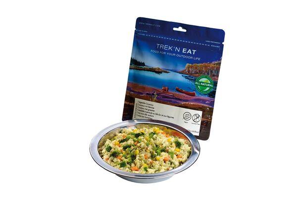 OD 2016 Trek n Eat Vegane Mahlzeit  Couscous Gemüse