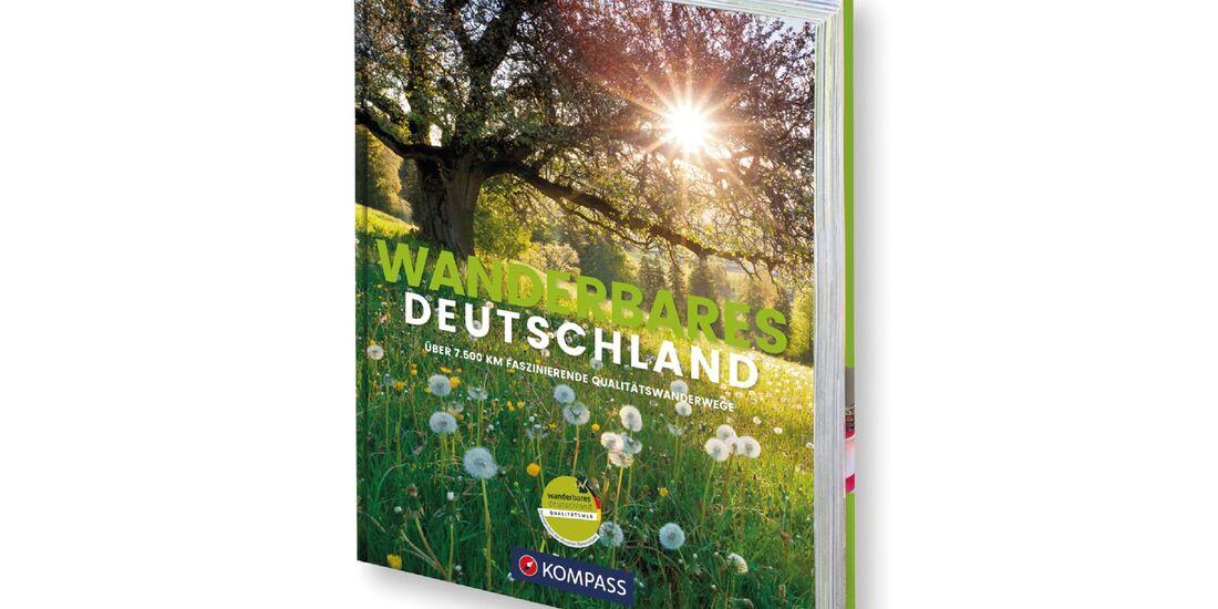 OD 2017 Wanderbares Deutschland Buch Kompass Verlag
