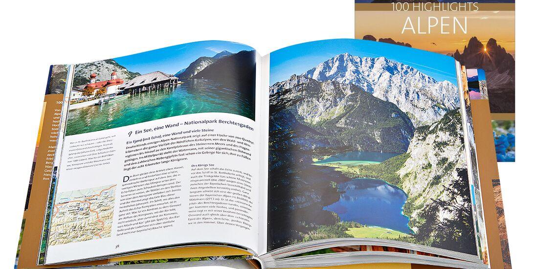 OD 2018 Buchtipp 100 Highlights Alpen Bildband Geschenke Weihnachten