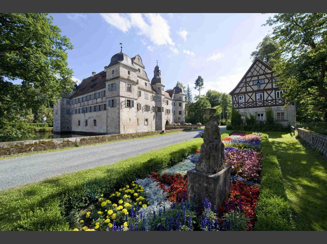 OD 2018 Mythos Bayern Sonderheft Frankenwald Wasserschloss Mitwitz