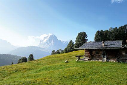 OD Die eigene Almhütte: Italien / St. Christina - Telemarkhütte