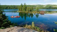 OD Kanada Killarney Provincial Park - mit dem Kanu unterwegs