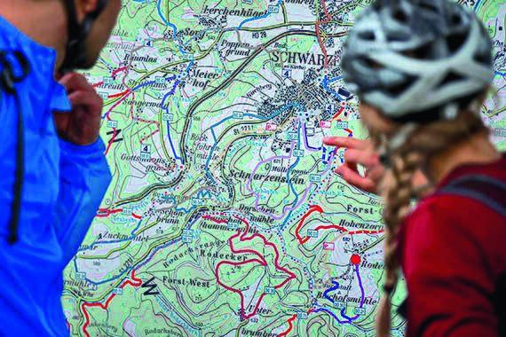 OD-SH-Bayern-2015-Frankenwald-Mountainbikekarte