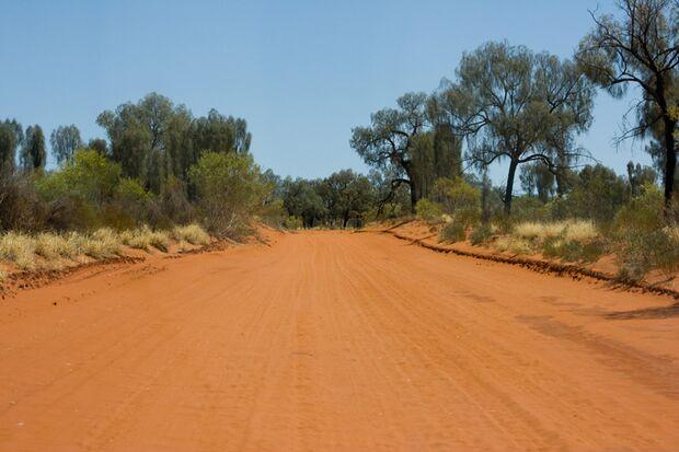 OD Stuart Highway Australien