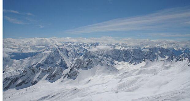 OD Zugspitze Alpenblick pixelio