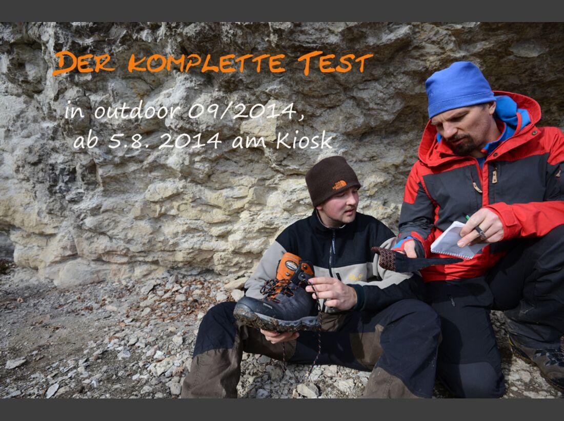 Praxistest in den Alpen: Bergschuhe  43
