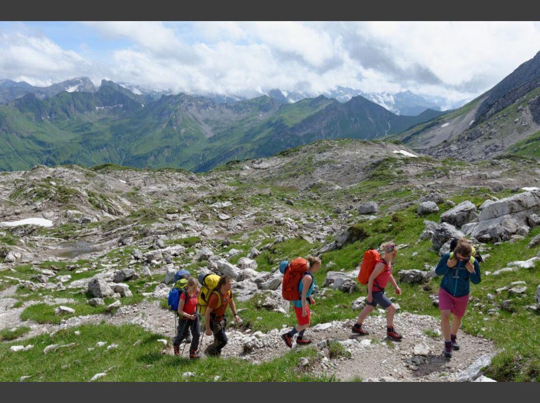 Praxistest in den Alpen: Bergschuhe  8