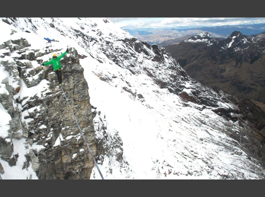Slackline-Höhenweltrekord in Peru 14