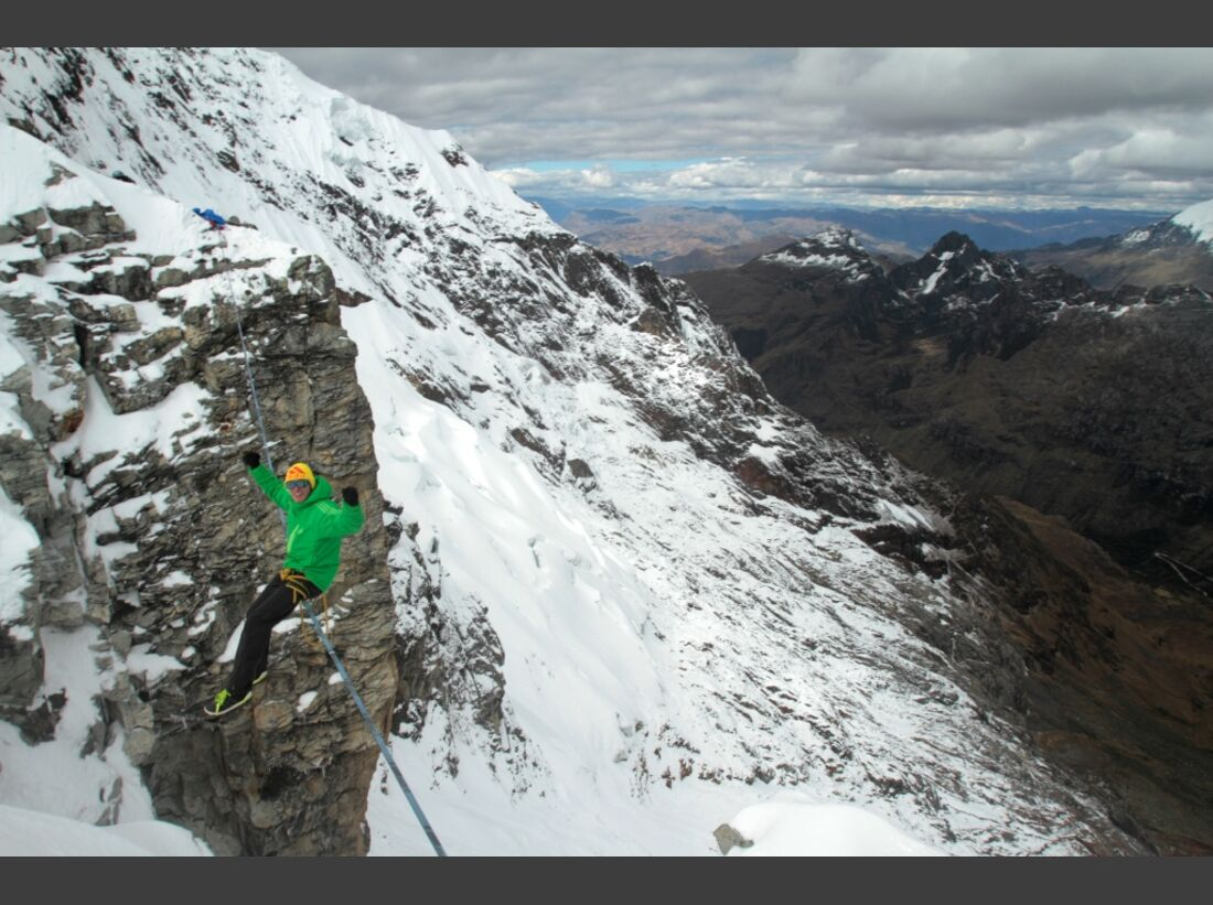 Slackline-Höhenweltrekord in Peru 15