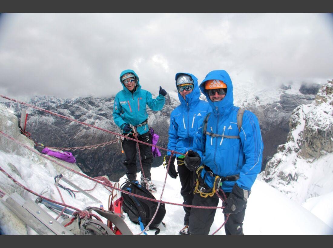 Slackline-Höhenweltrekord in Peru 7
