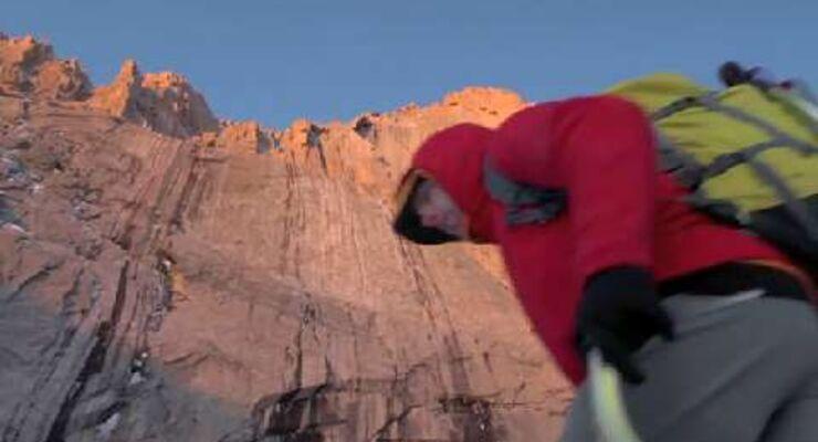 Softshelljacken für Bergsteiger und Kletterer