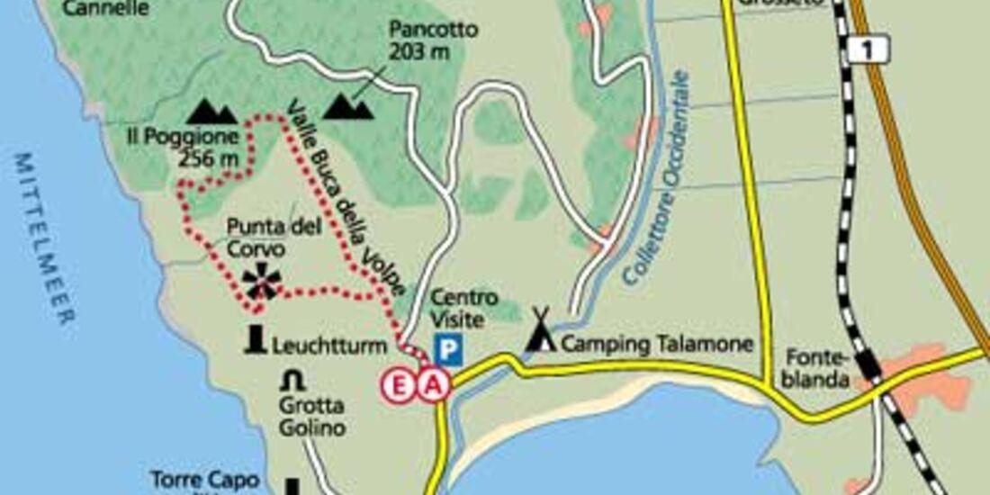 Tour 5: Punta, Macchia und Meer