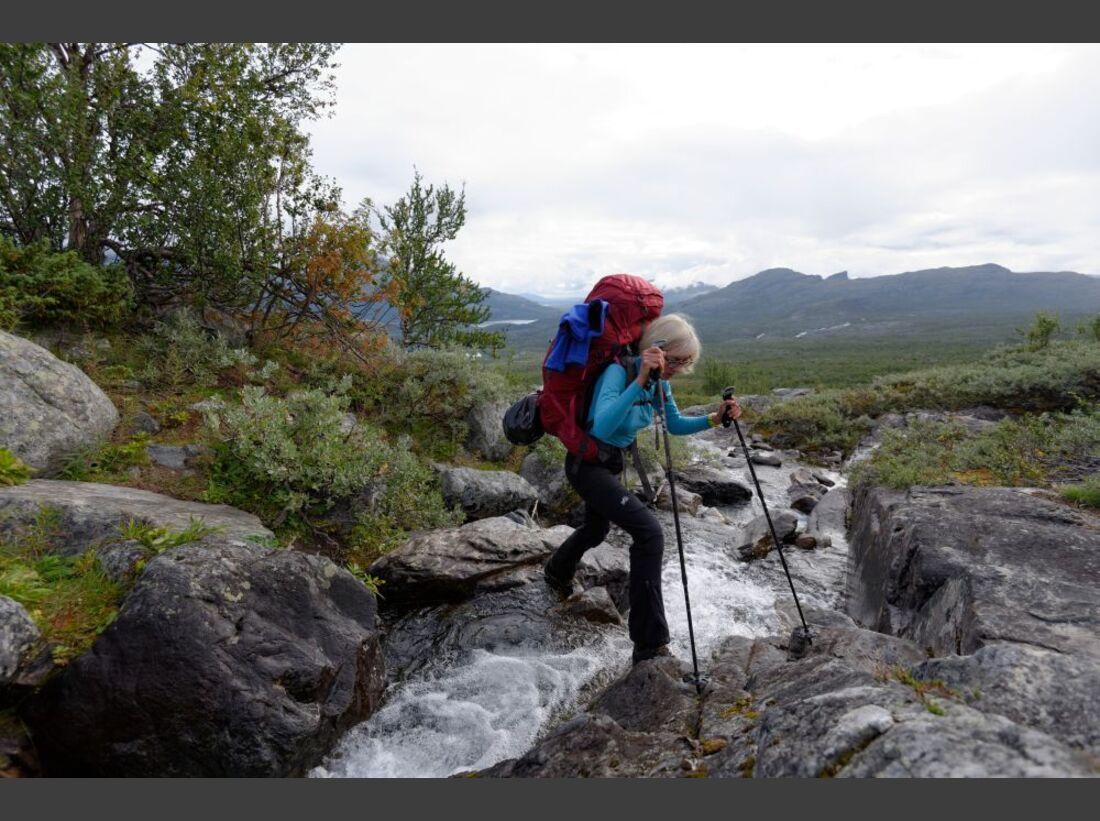 Wildnis-Trekking im Sarek 12