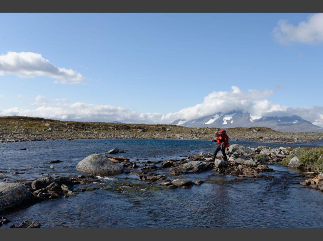Wildnis-Trekking im Sarek 25