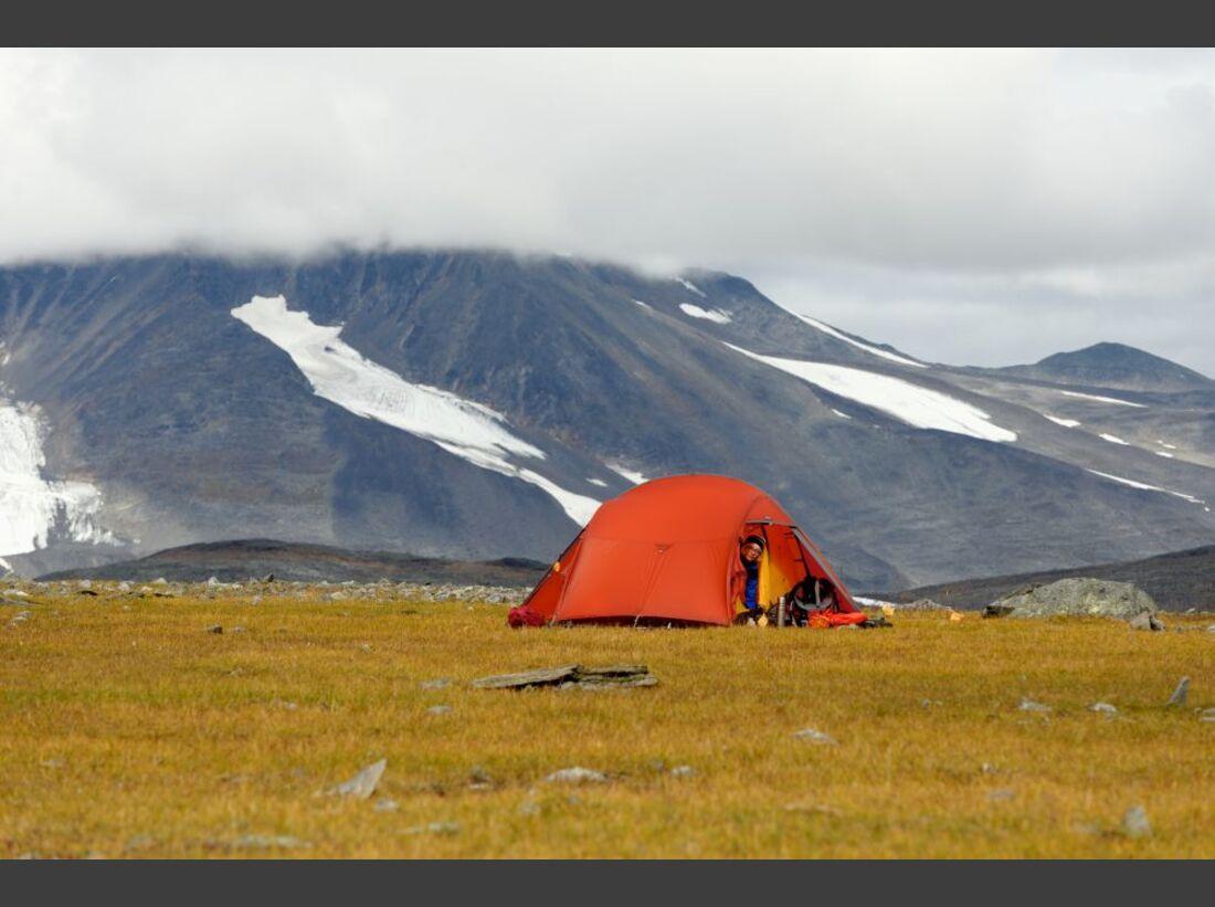 Wildnis-Trekking im Sarek 37