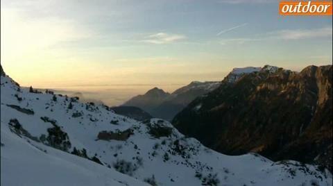 outdoor beim Iglu-Camp in der Zentralschweiz